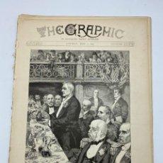 Coleccionismo de Revistas y Periódicos: THE GRAPHIC. AN ILLUSTRATED WEEKLY NEWSPAPER. Nº 1279. 2 DE JUNIO, 1894. VER. Lote 278885053