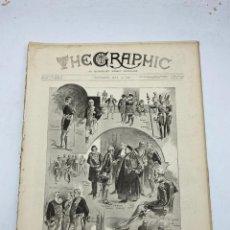 Coleccionismo de Revistas y Periódicos: THE GRAPHIC. AN ILLUSTRATED WEEKLY NEWSPAPER. Nº 1277. 19 DE MAYO, 1894. VER. Lote 278885303