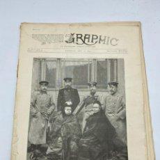Coleccionismo de Revistas y Periódicos: THE GRAPHIC. AN ILLUSTRATED WEEKLY NEWSPAPER. Nº 1276. 12 DE MAYO, 1894. VER. Lote 278885613