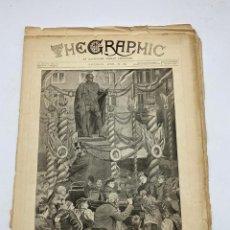 Coleccionismo de Revistas y Periódicos: THE GRAPHIC. AN ILLUSTRATED WEEKLY NEWSPAPER. Nº 1274. 28 DE ABRIL, 1894. VER. Lote 278885833