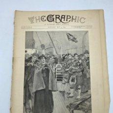 Coleccionismo de Revistas y Periódicos: THE GRAPHIC. AN ILLUSTRATED WEEKLY NEWSPAPER. Nº 1274. 5 DE MAYO, 1894. VER. Lote 278886163