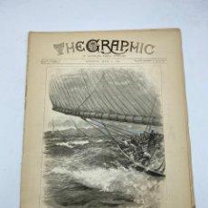 Coleccionismo de Revistas y Periódicos: THE GRAPHIC. AN ILLUSTRATED WEEKLY NEWSPAPER. Nº 1273. 21 DE ABRIL, 1894. VER. Lote 278886473