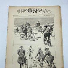 Coleccionismo de Revistas y Periódicos: THE GRAPHIC. AN ILLUSTRATED WEEKLY NEWSPAPER. Nº 1272. 14 DE ABRIL, 1894. VER. Lote 278886818