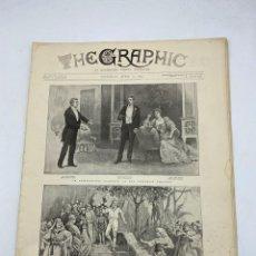 Coleccionismo de Revistas y Periódicos: THE GRAPHIC. AN ILLUSTRATED WEEKLY NEWSPAPER. Nº 1271. 7 DE ABRIL, 1894. VER. Lote 278887103