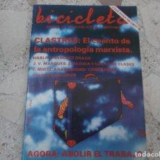 Coleccionismo de Revistas y Periódicos: BICICLETA, COMUNICACION LIBERTARIA, Nº 16, AGORA: ABOLIR EL TRABAJO, QUE PASA EN CNT. Lote 278920913