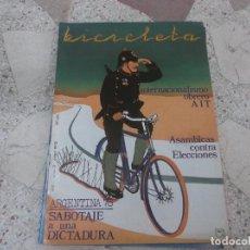 Coleccionismo de Revistas y Periódicos: BICICLETA, COMUNICACION LIBERTARIA, Nº 3, AGORA: ARGENTINA 78,SABOTAJE A UNA DICTADURA, OBRERO AIT. Lote 278921438