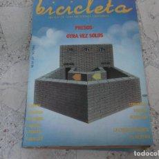 Coleccionismo de Revistas y Periódicos: BICICLETA, COMUNICACION LIBERTARIA, Nº 25, PRESOS OTRA VEZ SOLOS, VIDA LIBERTARIA. Lote 278922023