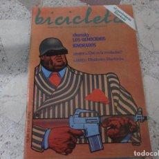 Coleccionismo de Revistas y Periódicos: BICICLETA, COMUNICACION LIBERTARIA, Nº 22, CHOMSKY: LOS GENOCIDIOS NIGNORADOS,. Lote 278922778