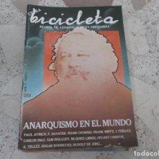 Coleccionismo de Revistas y Periódicos: BICICLETA, COMUNICACION LIBERTARIA, Nº 11, ANARQUISMO EN EL MUNDO,. Lote 278925138