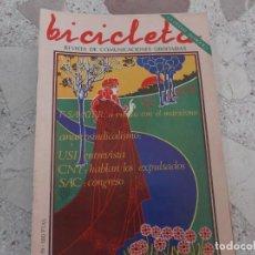 Coleccionismo de Revistas y Periódicos: BICICLETA, COMUNICACION LIBERTARIA, Nº 19, CNT: HABLAN LOS EXPULSADOS, ANARCOSINDICALISMO. Lote 278925738
