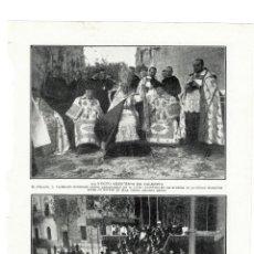 Coleccionismo de Revistas y Periódicos: VALENCIA 1914 NUEVO ARZOBISPO HOJA REVISTA. Lote 279423848