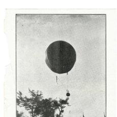 Coleccionismo de Revistas y Periódicos: PARIS 1914 DESGRACIA DE AEROSTACION HOJA REVISTA. Lote 279424363