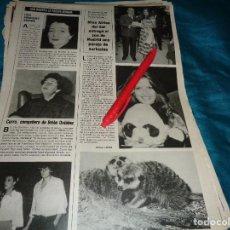 Coleccionismo de Revistas y Periódicos: RECORTE : MISS AFRICA DEL SUR, REGALO AL ZOO DE MADRID. SEMANA, MAYO 1984(#). Lote 279517333
