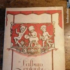 Coleccionismo de Revistas y Periódicos: REVISTA DE MODA INFANTIL - L'ALBUM ENFANTS DE LA FEMME CHIC- PARÍS - Nº 24, HIVER 1927. Lote 279582493