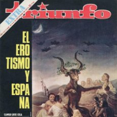 Coleccionismo de Revistas y Periódicos: REVISTA TRIUNFO NUMERO 434. AÑO XXV. 26 DE SEPTIEMBRE DE 1970. Lote 279759368
