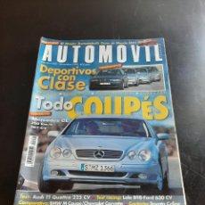 Coleccionismo de Revistas y Periódicos: AUTOMOVIL. Lote 280747078
