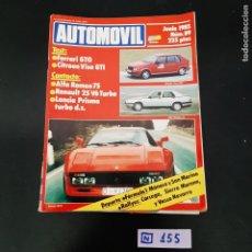 Coleccionismo de Revistas y Periódicos: AUTOMÓVIL. Lote 280752928