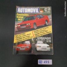 Coleccionismo de Revistas y Periódicos: AUTOMÓVIL. Lote 280757643