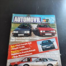 Coleccionismo de Revistas y Periódicos: AUTOMÓVIL. Lote 280795443
