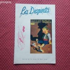 Coleccionismo de Revistas y Periódicos: REVISTA FALLERA LA DESPERTA FALLAS DE VALENCIA 1949. Lote 280860398