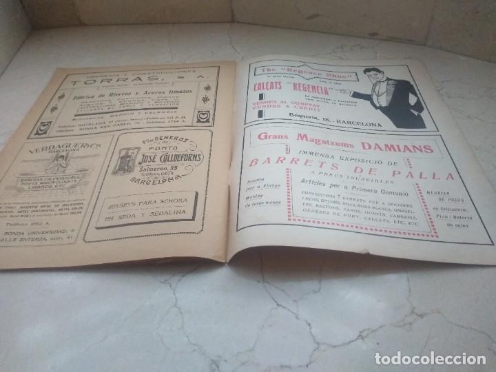 Coleccionismo de Revistas y Periódicos: Antiguo LEsquella de la Torratxa.Dedicado al teatro Tivoli. Mayo 1919. - Foto 4 - 280866333