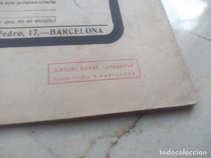Coleccionismo de Revistas y Periódicos: Antiguo LEsquella de la Torratxa.Dedicado al teatro Tivoli. Mayo 1919. - Foto 5 - 280866333
