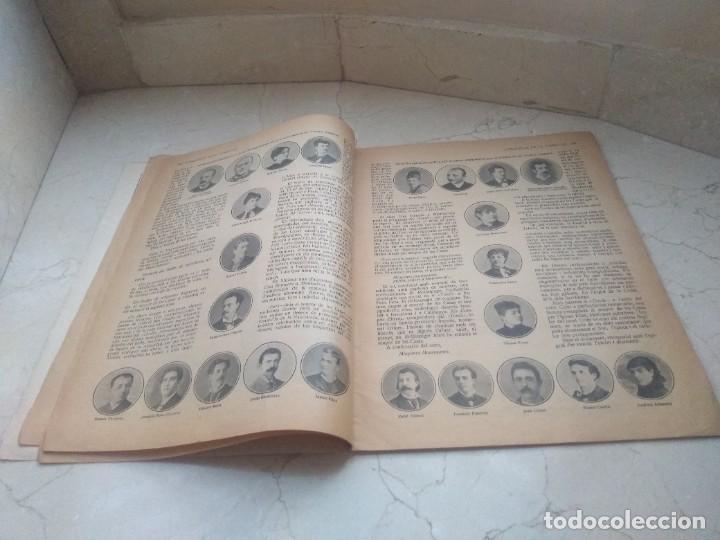 Coleccionismo de Revistas y Periódicos: Antiguo LEsquella de la Torratxa.Dedicado al teatro Tivoli. Mayo 1919. - Foto 6 - 280866333
