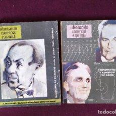 Coleccionismo de Revistas y Periódicos: 1950´S - 60´S, LOTE DE 2 NÚMEROS DE LA REVISTA INFORMACIÓN COMERCIAL ESPAÑOLA. Lote 282185568