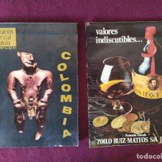 Coleccionismo de Revistas y Periódicos: LOTE DE DOS REVISTAS DE ECONOMÍA DE LOS 1970´S. Lote 282185698