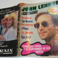 Coleccionismo de Revistas y Periódicos: JOHN LENON ASESINADO - THE BEATLES - EDITA SÁBADO GRÁFICO (1980). Lote 282250163