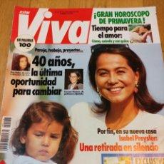 Coleccionismo de Revistas y Periódicos: REVISTA ESTAR VIVA 1992 MARTA SÁNCHEZ SARA MONTIEL SABRINA SALERNO ANA BELÉN TOPACIO MICHAEL JACKSON. Lote 283245853