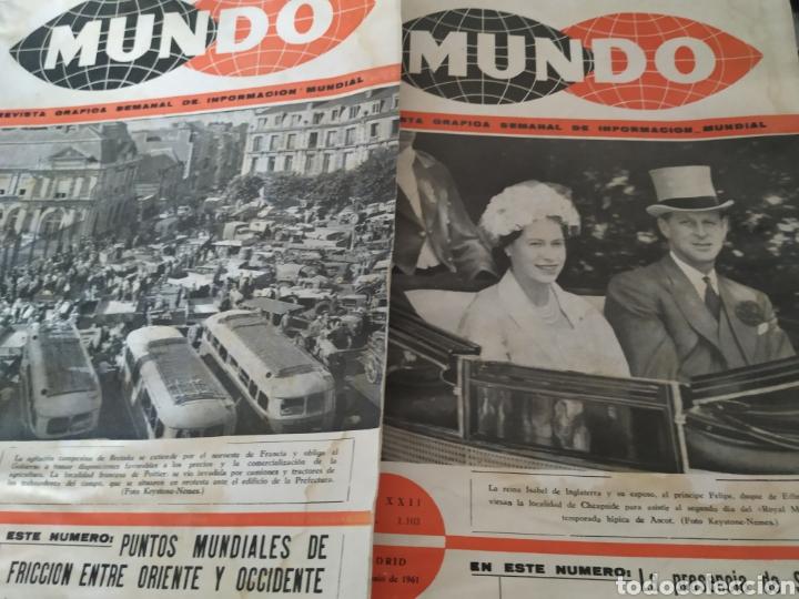 Coleccionismo de Revistas y Periódicos: 41 revistas mundo años 50-60 - Foto 3 - 283358768