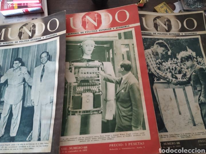 Coleccionismo de Revistas y Periódicos: 41 revistas mundo años 50-60 - Foto 4 - 283358768