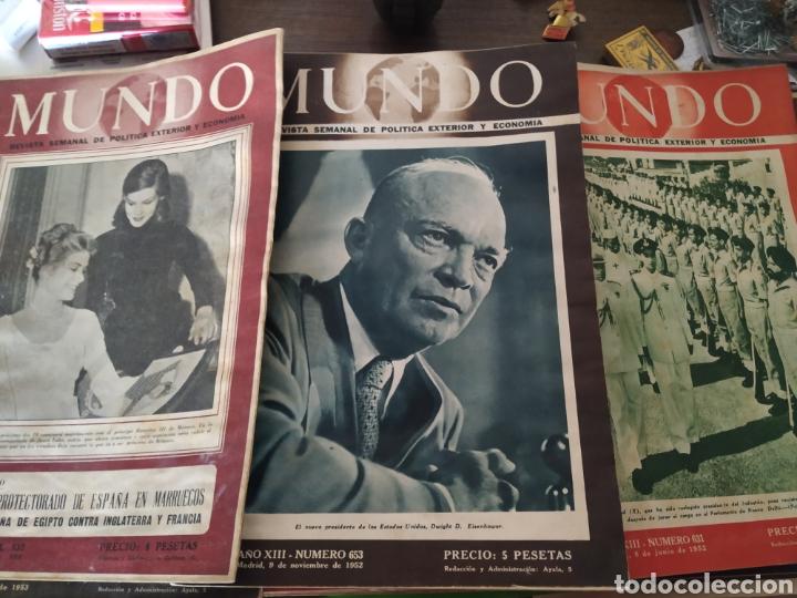 Coleccionismo de Revistas y Periódicos: 41 revistas mundo años 50-60 - Foto 5 - 283358768