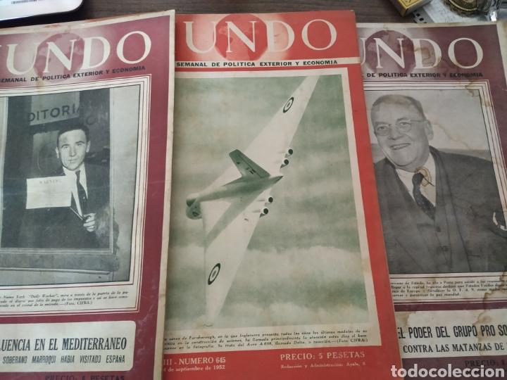 Coleccionismo de Revistas y Periódicos: 41 revistas mundo años 50-60 - Foto 6 - 283358768