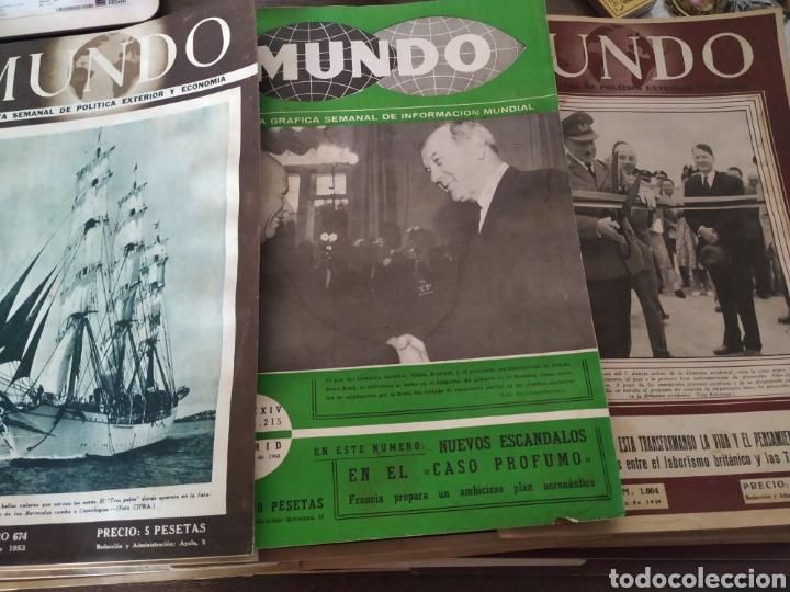 Coleccionismo de Revistas y Periódicos: 41 revistas mundo años 50-60 - Foto 7 - 283358768