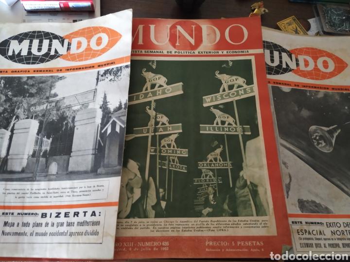 41 REVISTAS MUNDO AÑOS 50-60 (Coleccionismo - Revistas y Periódicos Modernos (a partir de 1.940) - Otros)