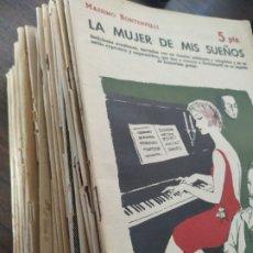 Coleccionismo de Revistas y Periódicos: 35 REVISTAS LITERARIAS AÑOS 50-60. Lote 283361993