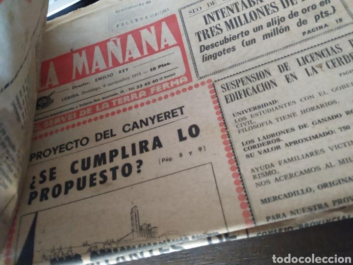 Coleccionismo de Revistas y Periódicos: Lote de 30 periódicos la mañana años 70 - Foto 2 - 283362823