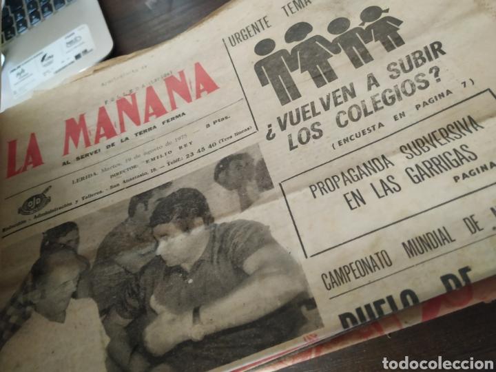 Coleccionismo de Revistas y Periódicos: Lote de 30 periódicos la mañana años 70 - Foto 3 - 283362823