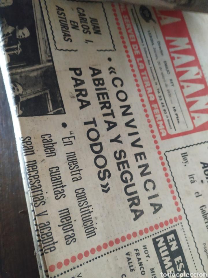 Coleccionismo de Revistas y Periódicos: Lote de 30 periódicos la mañana años 70 - Foto 4 - 283362823