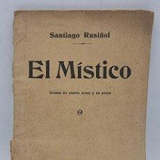 Coleccionismo de Revistas y Periódicos: EL MISTICO. SANTIAGO RUSIÑOL. MADRID, 1913. PAGS: 92.. Lote 284065703
