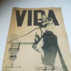 Coleccionismo de Revistas y Periódicos: REPÚBLICA ESPAÑOLA. REVISTA VIDA. MUY RARA. 1931. GRAN TAMAÑO. LEER DESCRIPCIÓN. VER. Lote 284214898