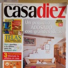 Coleccionismo de Revistas y Periódicos: REVISTA DE DECORACION / CASA DIEZ N° 2382 / CORRESPONDIENTE AL N°4-- 18 - 4 - 1997.. Lote 284702463