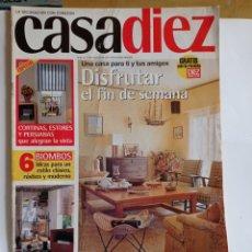Coleccionismo de Revistas y Periódicos: REVISTA DE DECORACION / CASA DIEZ N°2394 / CORRESPONDIENTE AL N°16 -- 11 - 7 - 1997. Lote 284708483