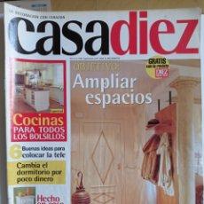 Coleccionismo de Revistas y Periódicos: REVISTA DE DECORACION / CASA DIEZ N°2380 / CORRESPONDIENTE AL N° 2 -- 4- 1997.. Lote 284709408
