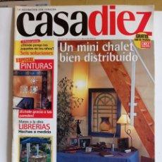 Coleccionismo de Revistas y Periódicos: REVISTA DE DECORACION / CASA DIEZ N° 2388 / N°10 -- 30 - 5 - 1997. Lote 284710198