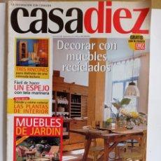Coleccionismo de Revistas y Periódicos: REVISTA DE DECORACION / CASADIEZ N° 2389 / N°11 -- 6 - 6 - 1997. Lote 284711493