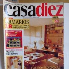 Coleccionismo de Revistas y Periódicos: REVISTA DE DECORACION / CASA DIEZ N°2381 / CORRESPONDIENTE AL N° 3 -- 11 - 4 - 1997.. Lote 284715723
