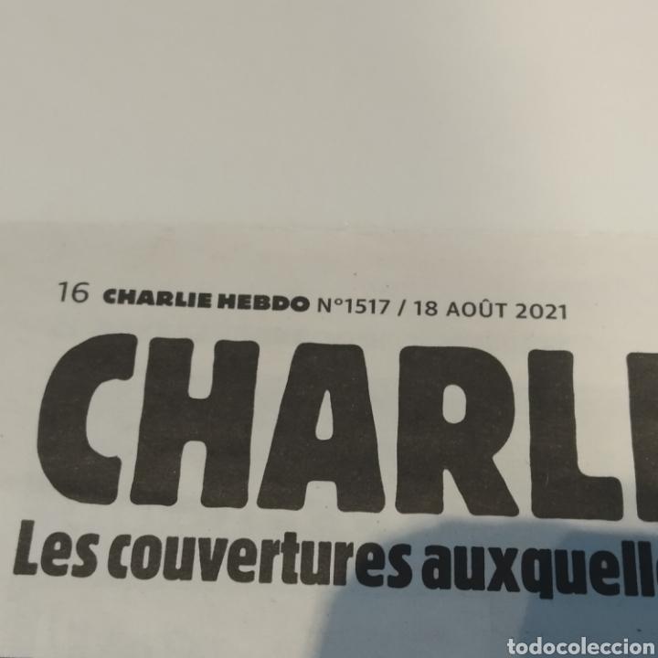Coleccionismo de Revistas y Periódicos: Semanario satírico Charlie Hebdo 18 agosto 2021, portada MESSI. Talibanes, peor de lo que pensamos - Foto 3 - 285053213